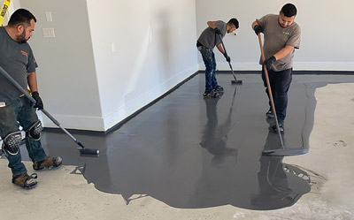 Residential Garage Floor Coatings